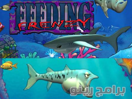تحميل لعبة السمكة feeding frenzy