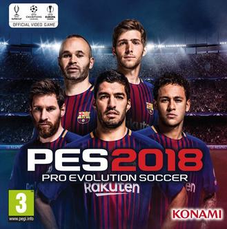 تحميل لعبة بيس Pes 2018 برابط مباشر