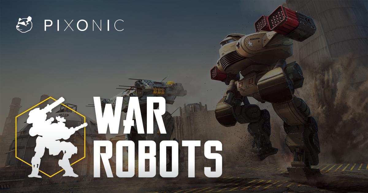 تحميل لعبه حرب الروبوتات War Robots