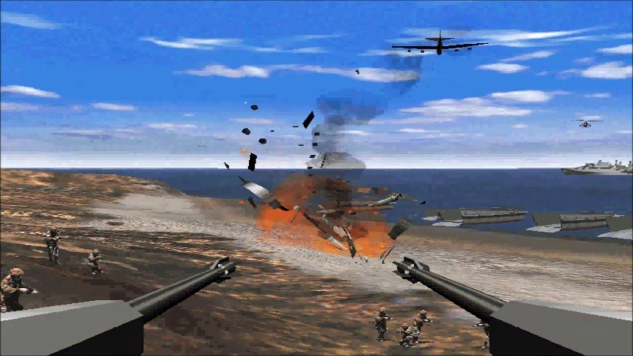 العاب اكشن حرب الشاطئ