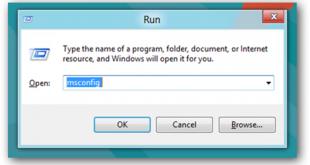 اوامر تنظيف جهاز الكمبيوتر بدون برامج run