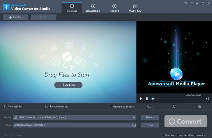 برنامج وندر شير فيديو كونفرتر للكمبيوتر