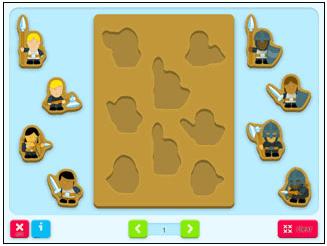 تحميل برنامج تعليم الاشكال للاطفال Puzzles 2018