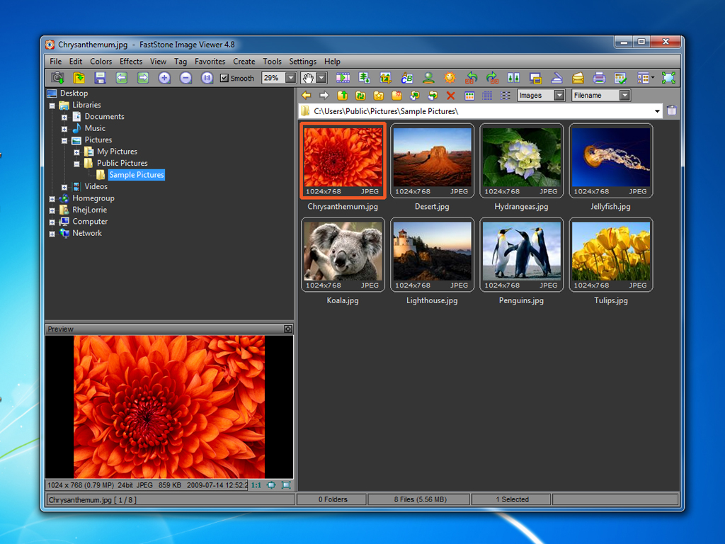 تحميل برنامج 2018 FastStone Image Viewer اخر اصدار