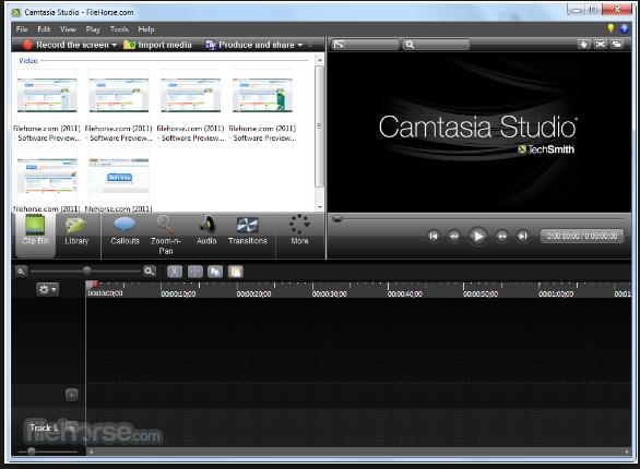 تحميل برنامج free Camtasia studio 2018 لالتقاط الصور من الشاشة وعمل فيديو شرح