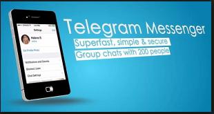 تحميل برنامج telegram messenger 2018