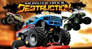 تحميل لعبه تحطيم السيارات Monster Truck Destruction 2018