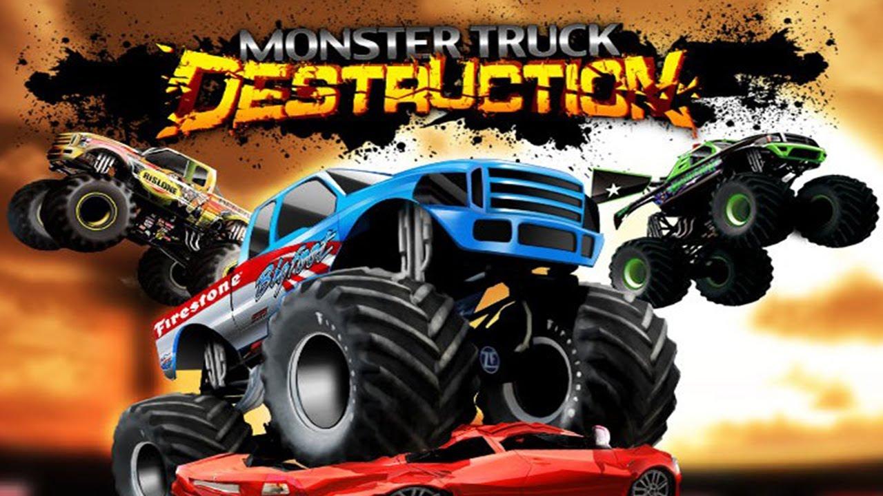 تحميل لعبه تحطيم السيارات Monster Truck Destruction 2019