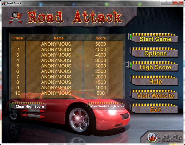 تحميل لعبه Road Attack