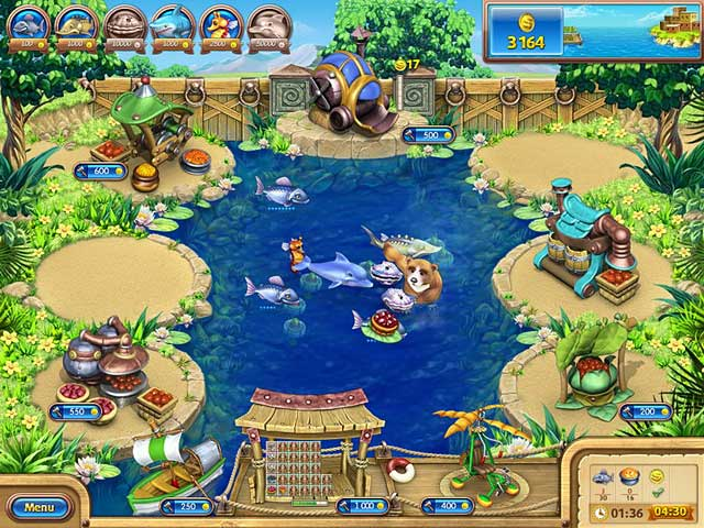 تحميل Farm Frenzy Gone Fishing
