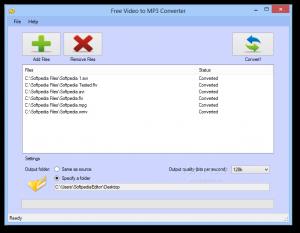تنزيل برنامج تحويل الفيديو الى صوت free video to mp3