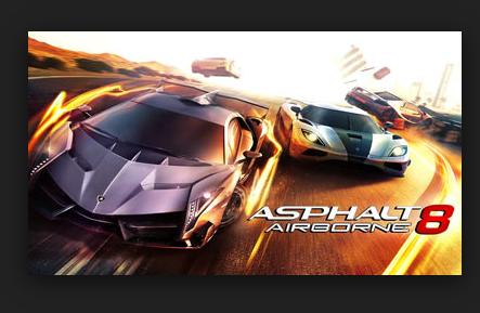 لعبه Asphalt 8 Airborne