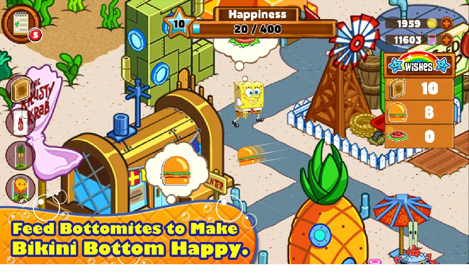 صور من داخل لعبة سبونج بوب SpongeBob -سبونج بوب يتجول