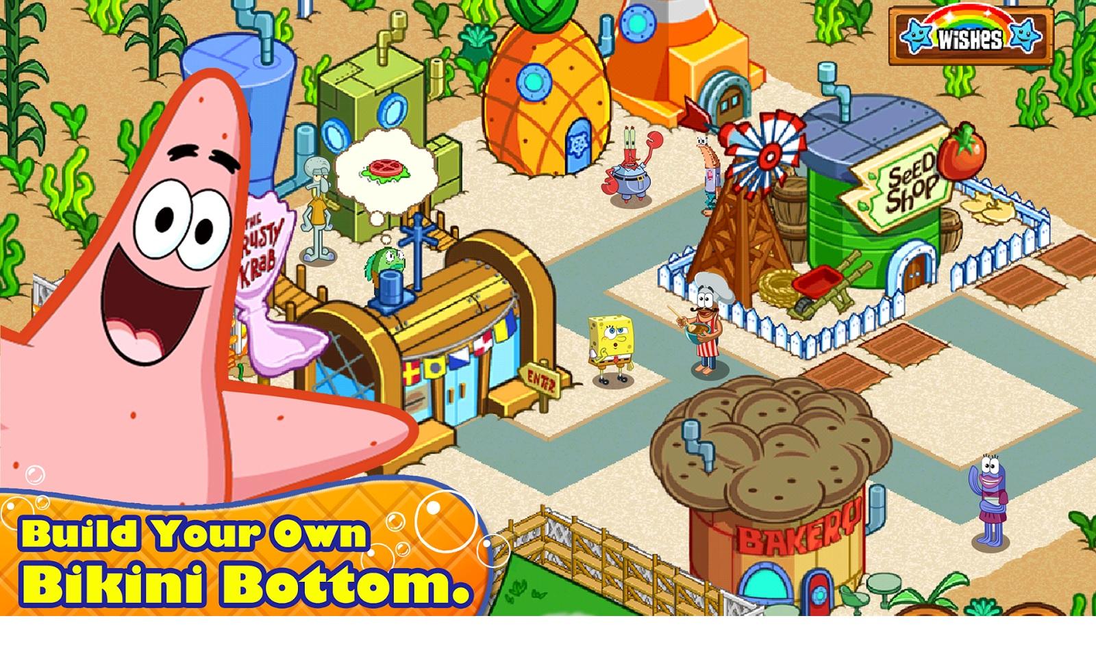صور من داخل لعبة سبونج بوب SpongeBob - يظهر في الصورة (بسيط)