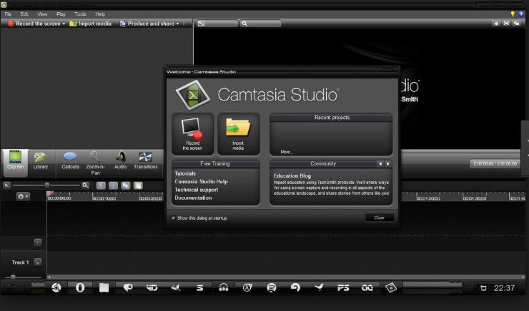 free Camtasia studio