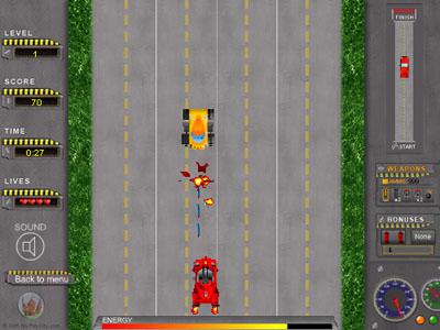 road-attack
