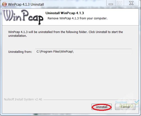 احدث اصدار برنامج Winpcap 2018