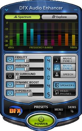 DFX Audio Enhancer احدث اصدار