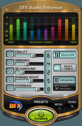 DFX Audio Enhancer للكمبيوتر