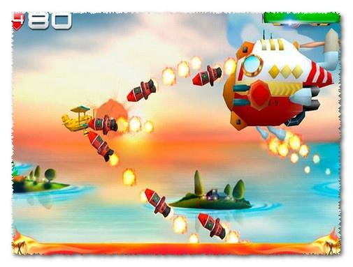 لعبة big air war