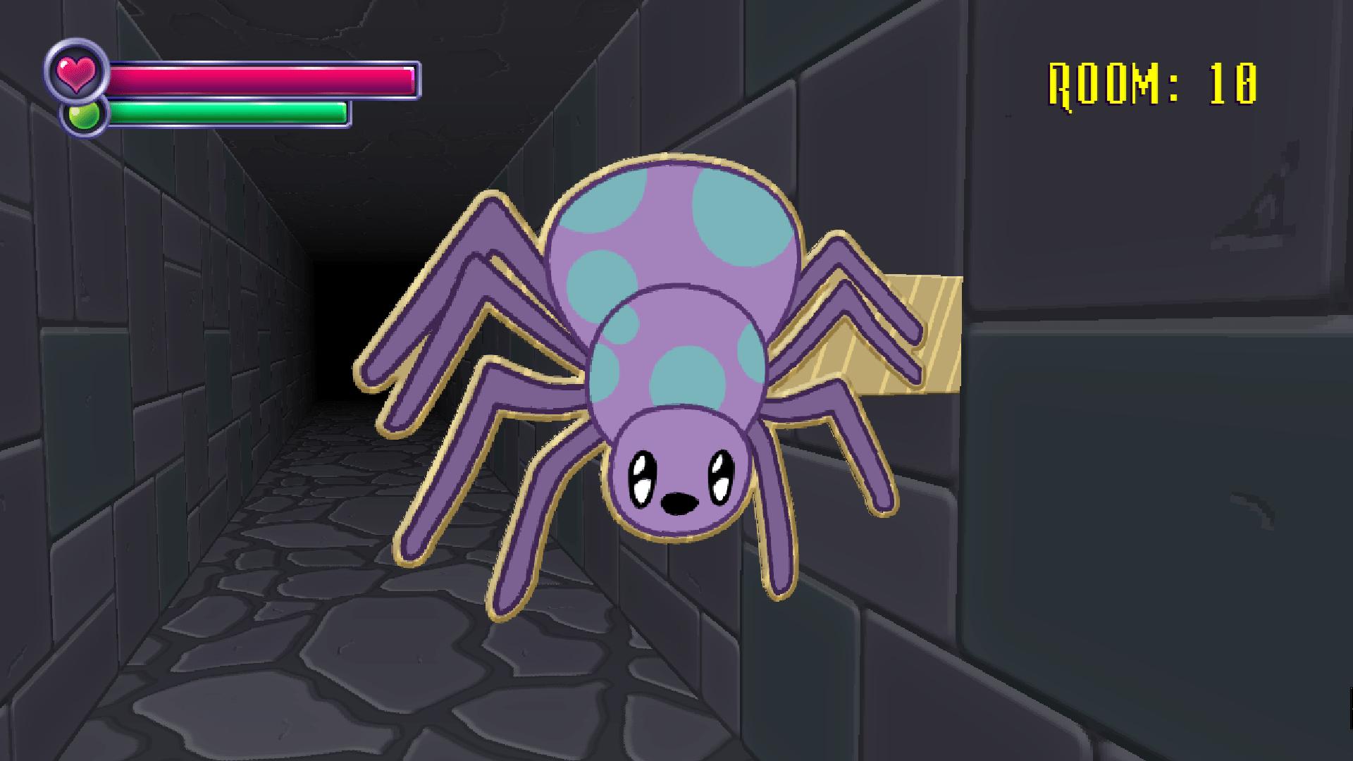 الأكشن في لعبة Spooky's House of Jump Scares