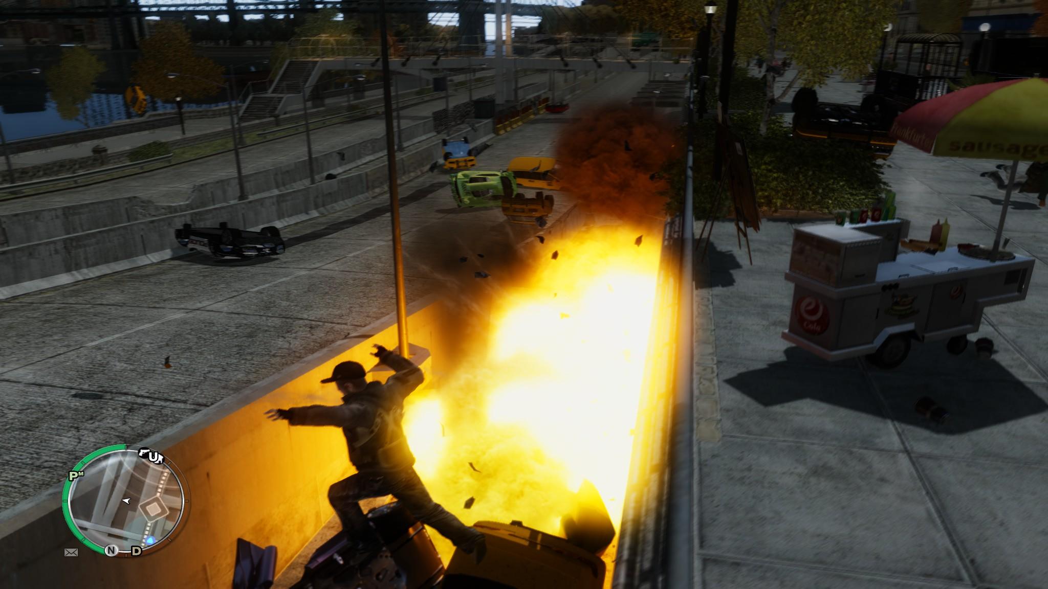 الاكشن في لعبة Carmageddon – GTA IV