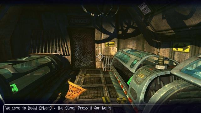 الاكشن في لعبة Dead Cyborg