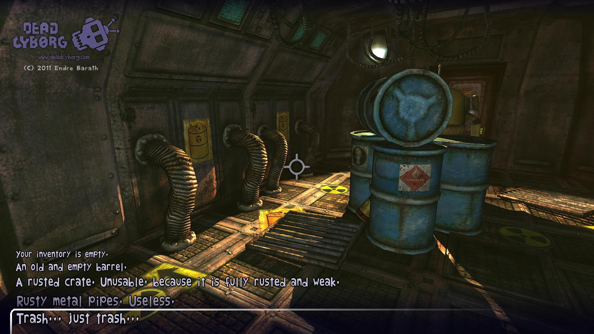 تدرج المستويات في لعبة Dead Cyborg