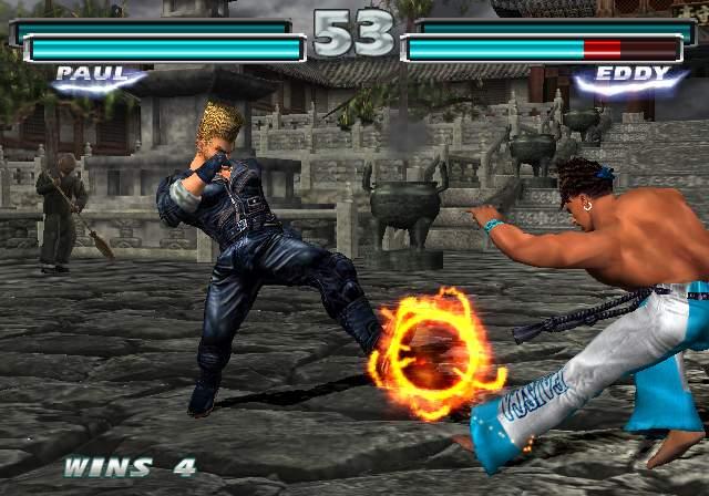 تدرج المستويات في لعبة Tekken Tag Tournament