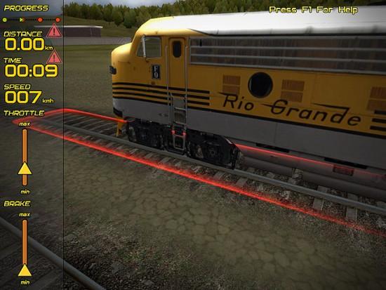 حجم لعبة The Train