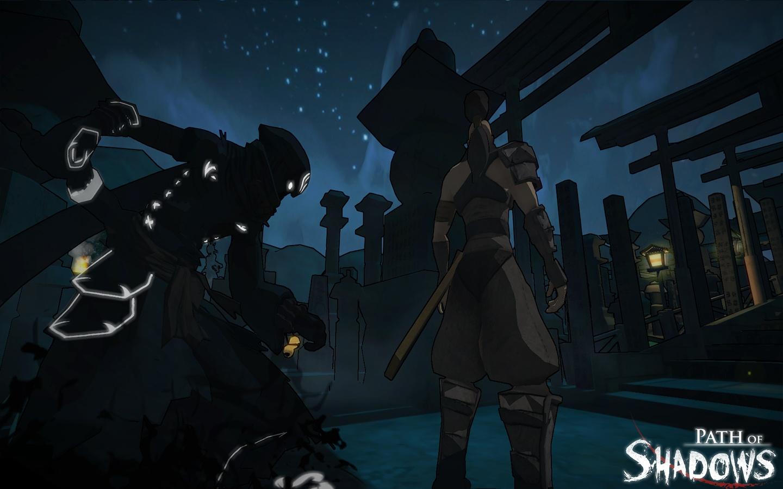 مستويات لعبة Path of Shadows