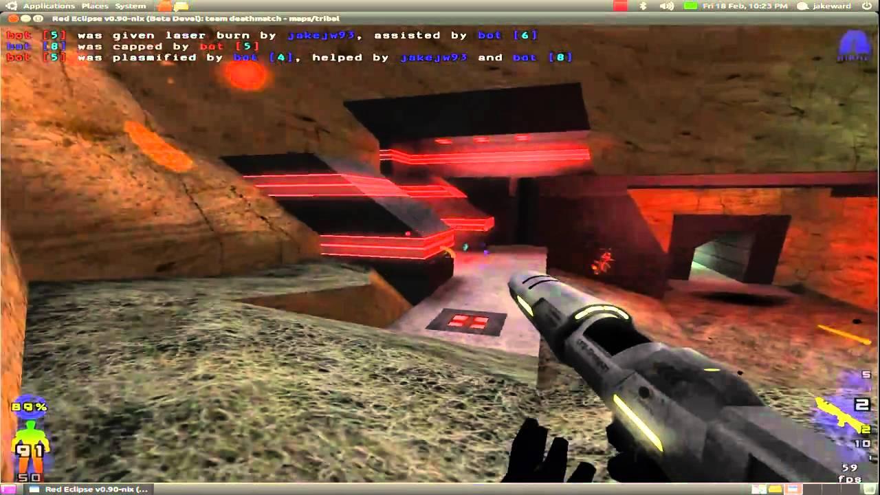 الاكشن في لعبة Red Eclipse