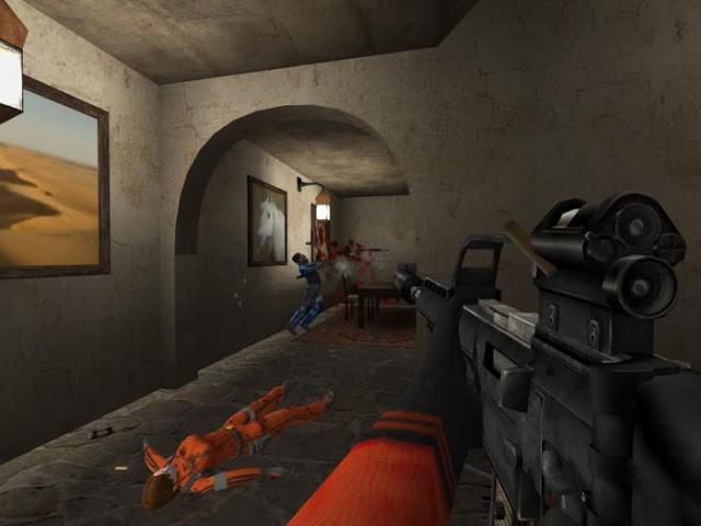 الاكشن في لعبة Urban Terror