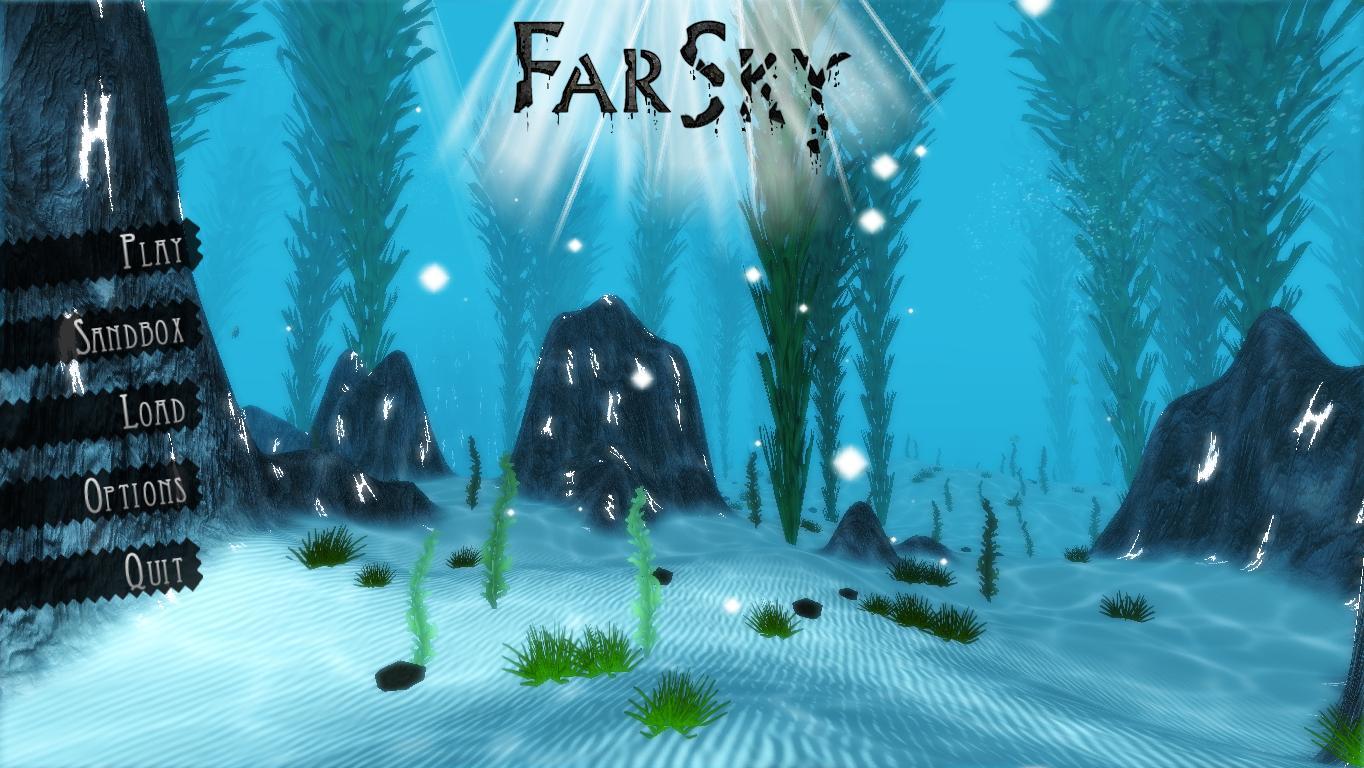 الجرافيك في لعبة FarSky