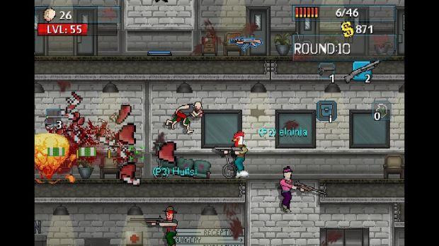 الجرافيك في لعبة Zombie Kill of the Week