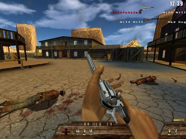 الجرافيك والمؤثرات في لعبة Smokin' Guns