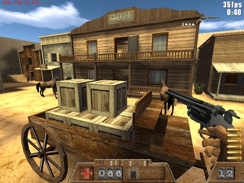 الخفة في لعبة Smokin' Guns