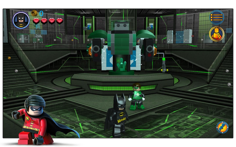 الرسومات في لعبة Lego Batman Demo