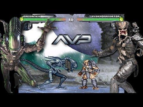 تحميل لعبة Alien Vs Predator MUGEN