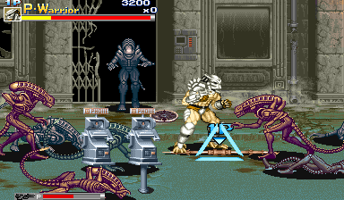 تعدد الاسلحة لعبة Alien Vs Predator MUGEN