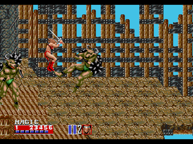 Photo of لعبة Golden Axe Genesis