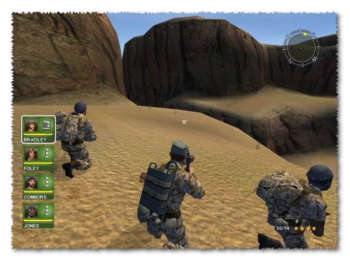 لعبة conflict desert storm 1